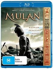Mulan (Blu-ray, 2011) New and Sealed *Fast 24 Hour Shipping *Multi Region ABC -