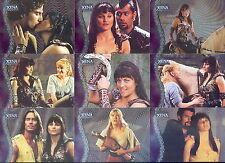 THE QUOTABLE XENA WARRIOR PRINCESS 2003 RITTENHOUSE FOIL BASE CARD SET OF 135 TV