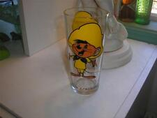 1973 COLLECTIBLE PEPSI GLASS - SPEEDY GONZALES  <<MINT CONDITION<<