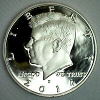 2014 S Clad Proof Kennedy Half Dollar Coin 50 Cent JFK 50c Fifty Cents