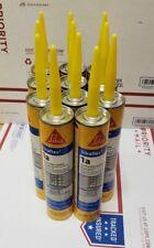 New listing 11 tubs Sikaflex 1A Elastomeric Construction Sealant, 10.1 oz, Limestone color.