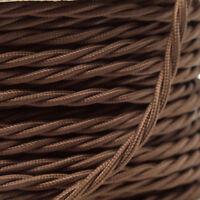 3 METRI UK ART DECO EMPORIUM Brand intrecciato contorto FLEX 3A in oro antico