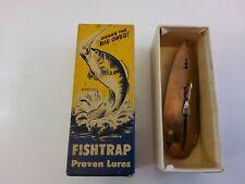 Fishtrap Proven Lures, Lure In Box, #600 A, Nickel