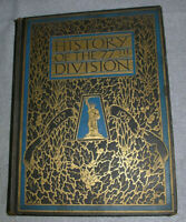 World War I WWI Book US Army Unit History of the 77th Division NY Infantry 1918