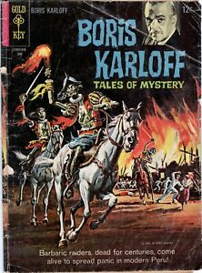 Boris Karloff Tales of Mystery Comic Book #10 Gold Key Comics 1965