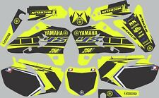 Vibrant Highlighter YAMAHA GRAPHICS  YZ 250F YZ250F 2003 2004 2005