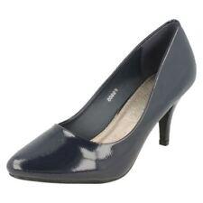 Scarpe da donna blu formale sintetico