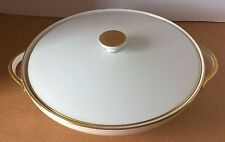 H & C Selb  Heinrich Ammut Goldene Medaille 1x Triennale Mailand Bowl With Lid.
