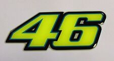 ROSSI 46 FLUORESCENT STICKER 100 x 42 COATED WITH A HIGH GLOSS DOMED GEL FINISH