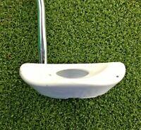 """GAIM Golf A-365 Mallet Ball Cavity Putter  RH / ~34.5"""" Steel / NEW GRIP / mm4314"""