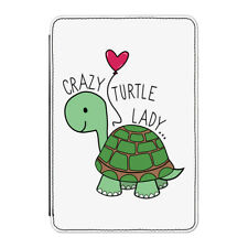 "Crazy Turtle Lady Case Cover for Kindle 6"" E-reader - Funny"