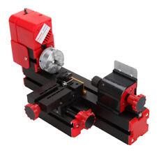 6 In 1 Mini Motorized Lathe Machine 24W Tool Metal Milling Drilling Woodworking