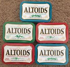 Lot Of 5 Altoids Tins