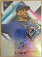 2020 Topps Fire ADBERT ALZOLAY ROOKIE RC AUTOGRAPH AUTO CHICAGO CUBS