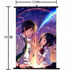Japan Anime Your Name (Kimi no Na wa) Poster Wall Scroll painting Hanging NEW