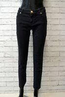 Pantalone JOOP Donna Taglia 46 Jeans Pants Slim Cotone Elastico Blu Woman