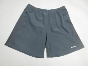 Patagonia Size XL(36) Mens Black Athletic Outdoor Lined Hiking Shorts T730