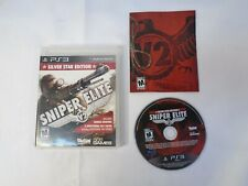 Sniper Elite V2: Silver Star Edition - PS3 Tested Guaranteed Case Manual Game