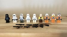Lego Star Wars Minifigures Lot + Accessories +See Photos* Luke Skywalker X-wing