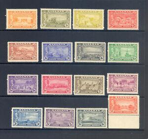 BAHAMAS SG 178-93 1948 ELEUTHERA SET MNH