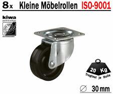 1 x Polyamid Bockrolle 80 mm Transport Schwerlast Lenkrolle ISO 9001 Germany