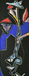 Signed Ki Dated 84 - Abstract Composition