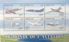 Burkina Faso- 1999 Airplanes Stamp Sheet of 6 MNH