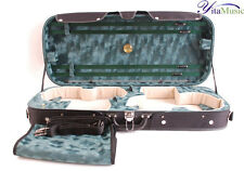 A High Quality Plywood Double Violin Case for 4/4 Violins HZV12