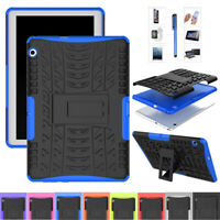 For Huawei Mediapad T3 9.6 T5 10 M3/ M5 Lite Case Armor Rugged Stand Hard Cover