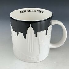 Starbucks Relief Mug City Mug New York !OLD!ALTE FORM 2010 schwarz black /&white