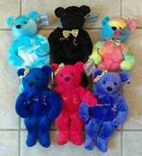 SALVINO'S BAMMERS Complete Set of 6 Bears Figure Skating Ice Bammers 1999