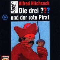 """DIE DREI ??? """"UND DER ROTE PIRAT (FOLGE 34)"""" CD NEUWARE"""