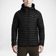 Nike NSW Av15 Hooded 550 Fill Down Jacket/ Dark Grey/ Men's Large ...