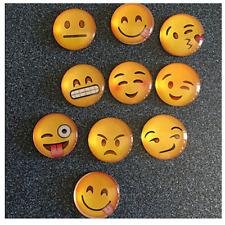 Imán nevera emoji emoticono cara smile cabochon cristal