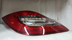 Porsche Boxster 987 Cayman Rouge / Transparent 2nd Gen 981 Style LED Queue Feux
