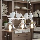 Modern Chandelier Light Fixture Nordic Bird Chandelier White
