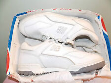 NEW, In Box 90's New Balance White Leather Sneakers Men's Size 8 D FREE SHIPPING