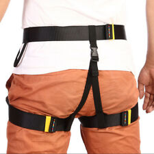 Pro Safety Rappelling Rock Climbing Harness Seat Sitting Bust Belt Equipment