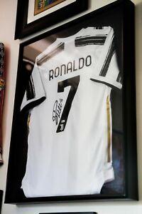 Cristiano Ronaldo Autographed Signed Juventus Jersey COA - NO SHADOW BOX!
