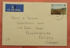 Dr Who 1978 Ascension Island Airmail To Usa 163223