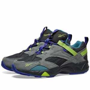 Men Reebok Aztrek 96 Adventure Lime Casual Sneakers EG8891 NEW