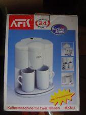 Kaffeemaschine AFK Küchenstar mit 2 Tassen