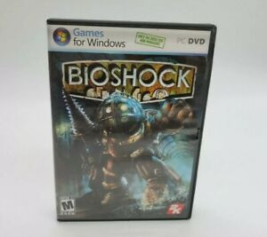 BioShock (PC, 2007) Video Game Windows Action Complete -2k Games