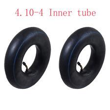 4.10/3.50-4 Inch Tyre Inner Tube For Pneumatic Wheel Trolley Wheel Bent Valve x2