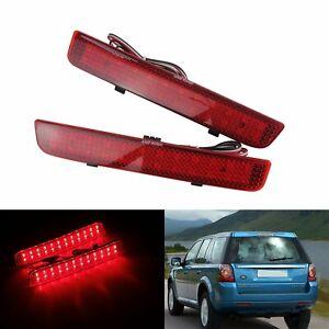 Paire LED Rouge Feux Pare-chocs Arrière Réflecteur Pour Range Rover L322 2003-12