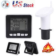 Lcd Digital Fish Tank Reptile Aquarium Water Meter Thermometer Transmitter