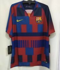 2018 2019 FC Barcelona 20th Anniversary 'Mash Up' Kit Shirt Jersey Mens M