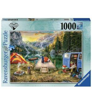 Ravensburger 16177 Calm Campside 1000 Piece Jigsaw Puzzle Nature Lake Scenery