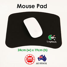 Black PC Laptop Computer Mouse Pad Mat Gaming optical laser Notebook Desktop