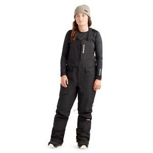 Dakine Women's Reach 20K Bib Shell Snowboard Pants Medium Black New 2022